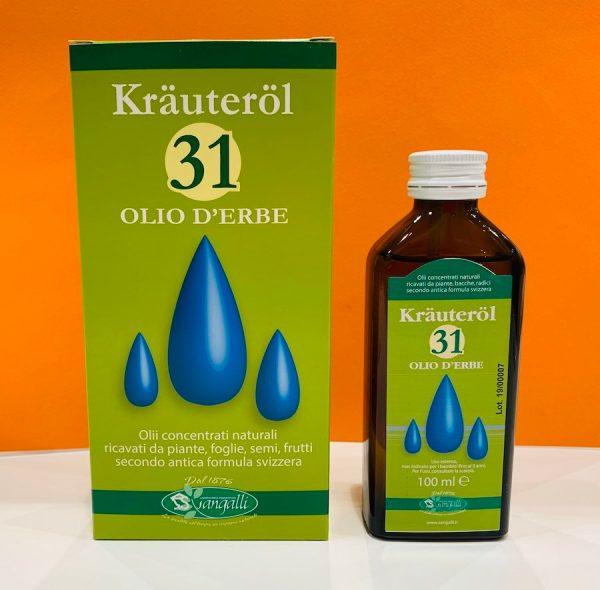 Olio d'erbe 31 - Sangalli | Erboristeria Erbainfusa Como | Shop Online