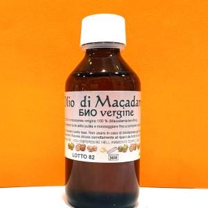Olio di macadamia bio vergine - Nonna Ortica | Erboristeria Erbainfusa Como | Shop Online
