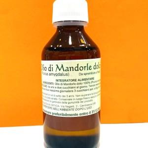Olio di mandorle dolci 100 ml - Nonna Ortica | Erboristeria Erbainfusa Como | Shop Online