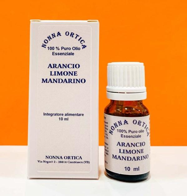 Olio essenziale - arancio limone mandarino - Nonna Ortica | Erboristeria Erbainfusa Como | Shop Online