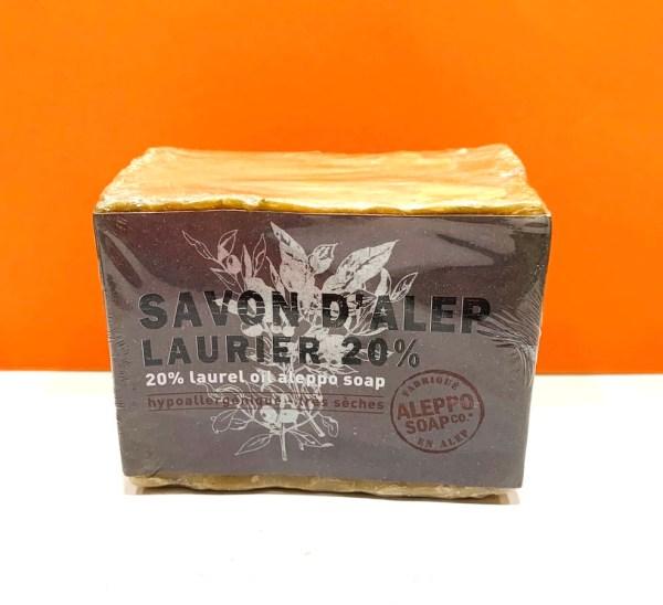 Sapone - Solido 20% - Aleppo soap | Erboristeria Erbainfusa Como | Shop Online