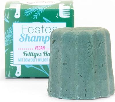 Shampoo solido - capelli grassi - erbe folli - Lamazuna | Erboristeria Erbainfusa Como | Shop Online