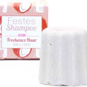 Shampoo solido - capelli secchi - vaniglia e cocco - Lamazuna   Erboristeria Erbainfusa Como   Shop Online
