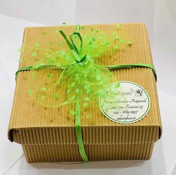 Confezione / scatola regalo - Erbainfusa | Erboristeria Erbainfusa Como | Shop Online