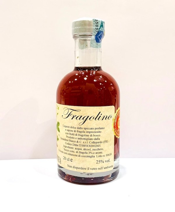Fragolino 20 cl - Sarandrea | Erboristeria Erbainfusa Como | Shop Online