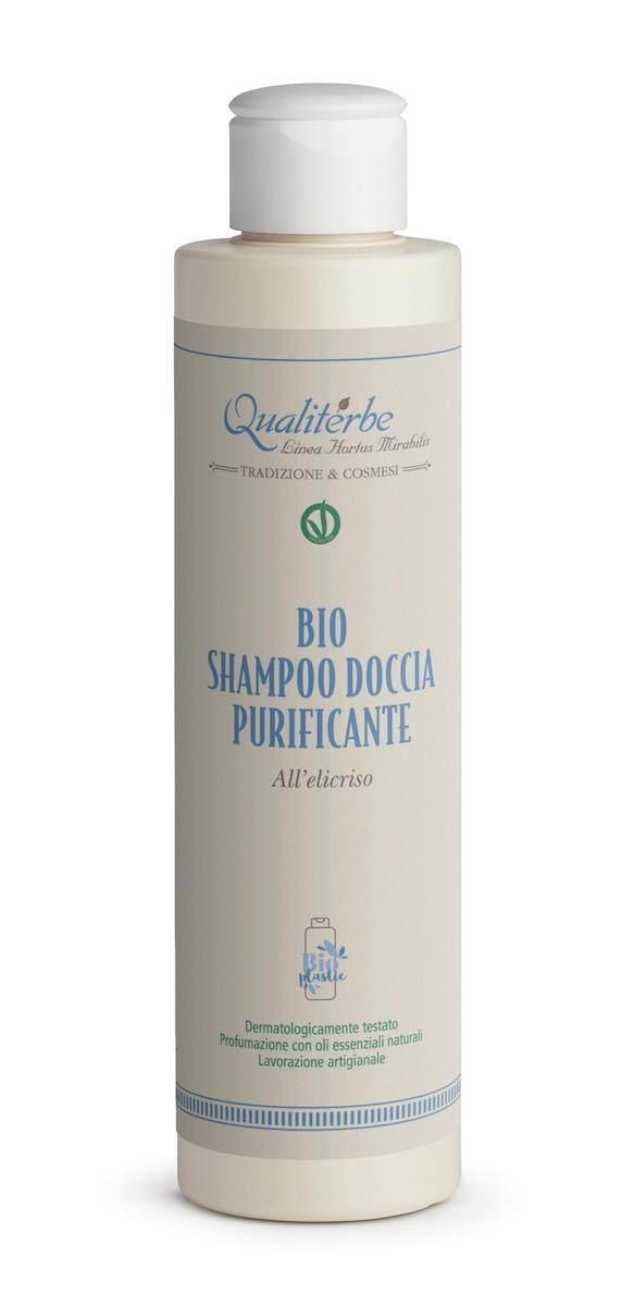 Bio Shampoo doccia purificante all'elicriso - Qualiterbe | Erboristeria Erbainfusa Como | Shop Online