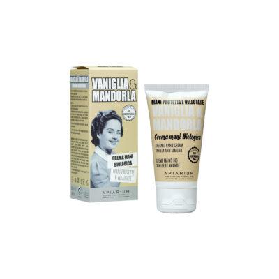 Crema mani - vaniglia e mandorla - Apiarium | Erboristeria Erbainfusa Como | Shop Online