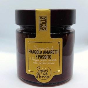 Composta di fragola, amaretti e passito - Sapori della Nonna | Erboristeria Erbainfusa Como | Shop Online