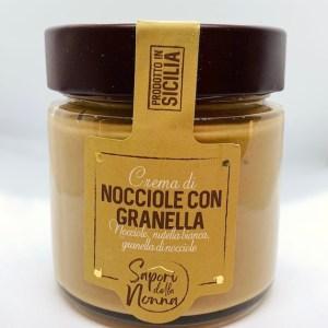 Crema di nocciole con granella - Sapori della Nonna | Erboristeria Erbainfusa Como | Shop Online