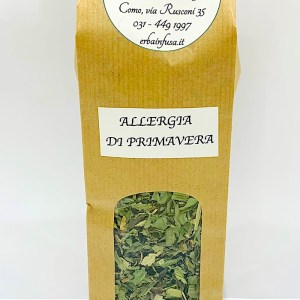 Tisana allergia primavera - Erbainfusa | Erboristeria Erbainfusa Como | Shop Online