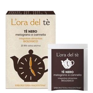 Tè Nero - Melograno e Cannella - Erboristeria Magentina   Erboristeria Erbainfusa Como   Shop Online