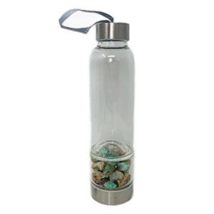 Bottiglia elisir - Crisoprasio - Cristalli del benessere   Erboristeria Erbainfusa Como   Shop Online