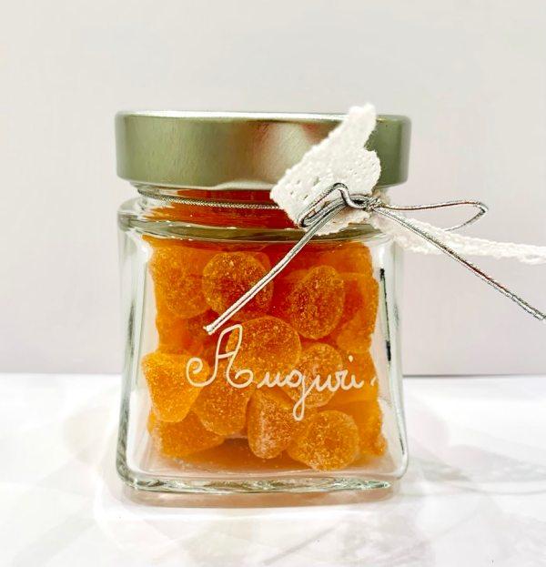 Caramelle morbide in vetro - aranca e cannella - Erbainfusa | Erboristeria Erbainfusa Como | Shop Online