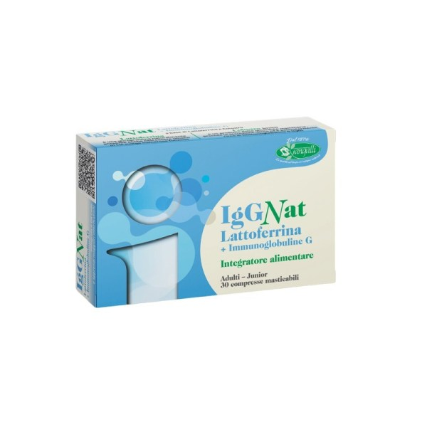 IgGNat Lattoferrina + Immunoglobuline G - Sangalli | Erboristeria Erbainfusa Como | Shop Online