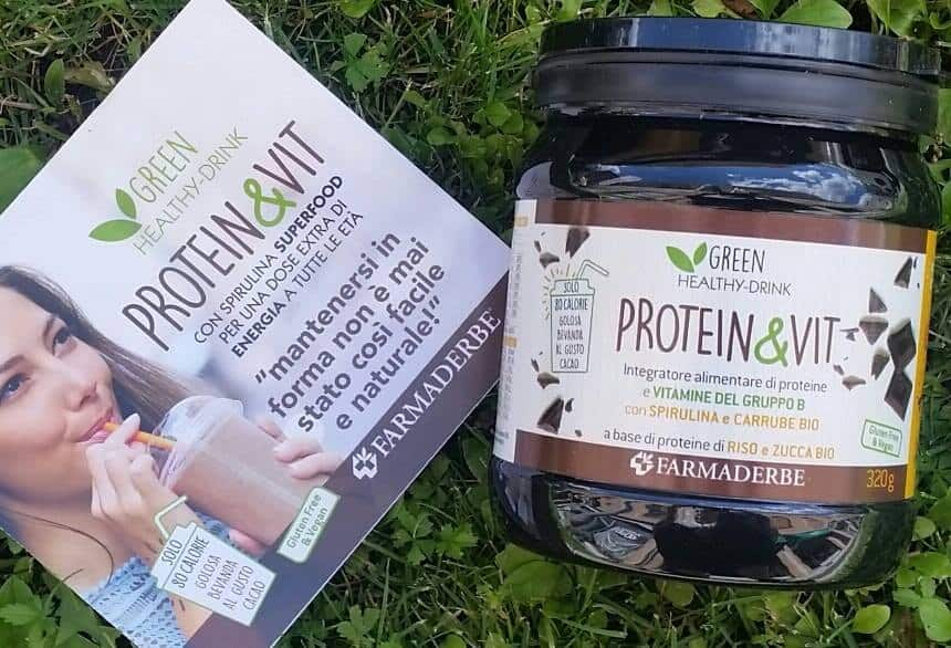 Protein & Vit con Spirulina Superfood