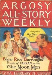 Edgar Rice Burroughs 'The Moon Men'