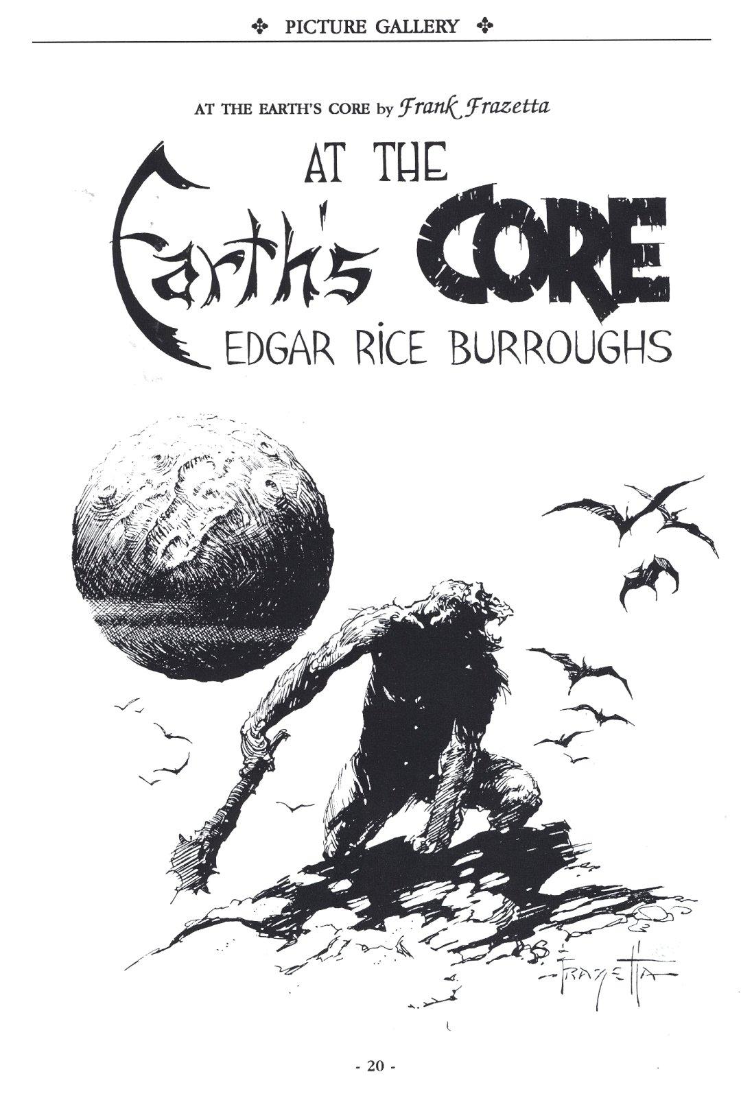 Erbzine A Burroughs Bulletin 06 At The Earth S Core