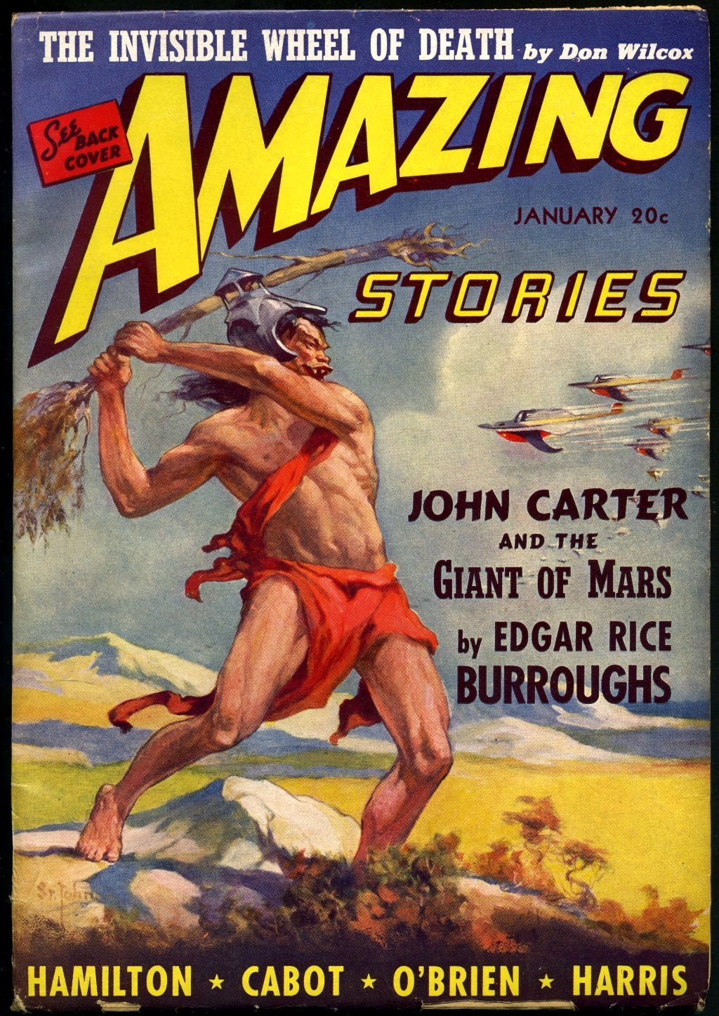 Image result for john carter pulp