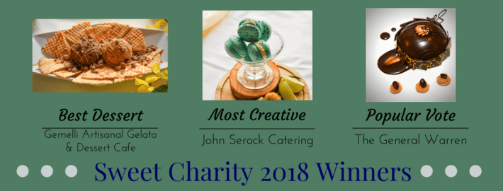 Giving Has Never Tasted So Good – Sweet Charity 2018 – Exton