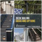 Deck Railing Options Deck Railing Ideas