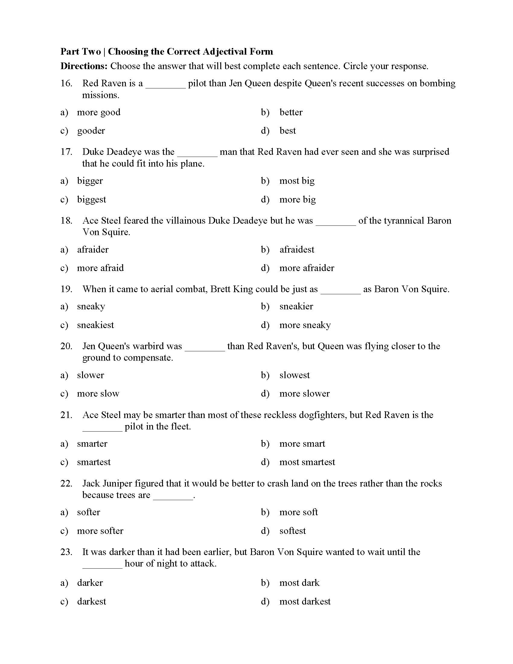 A An The Articles Worksheet With Answers