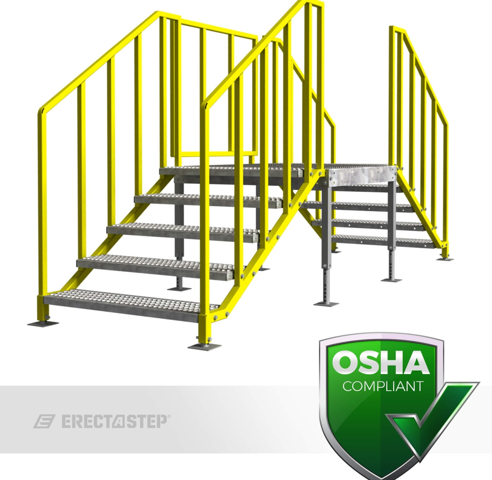 Portable Stairs Multiple Entries Yellowgate | Portable Stairs With Handrail | Chair | Plastic Portable | Camper | Wall Mounted | Ladder