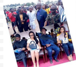 Teenage Regina Daniels and Ned Nwoko. www.eremmel.com