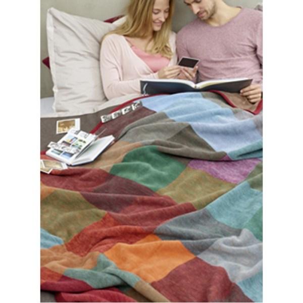 Плед Biederlack Colour woven