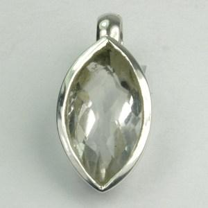 AN96 Bergkristall 7x14 mm