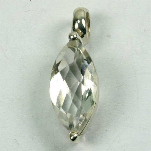 AN98 Bergkristall 7x14 mm