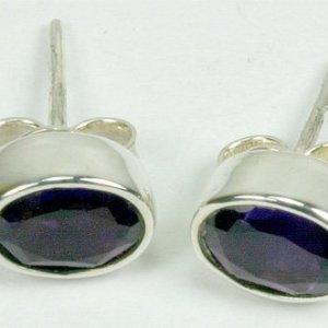 SM092L Amethyst 5x7 oval
