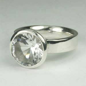 RA110 Bergkristall 67 11 mm concav