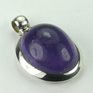 AN15T-01 Amethyst 19 18x24 mm oval