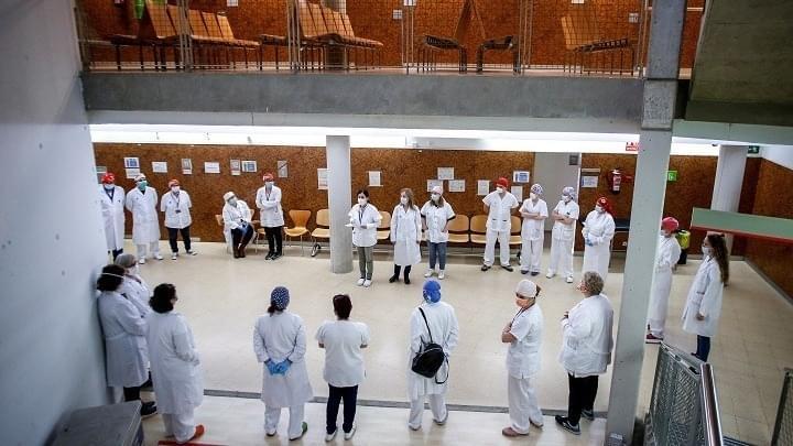 Απεργία των Ισπανών Γιατρών για μισθούς, προσλήψεις και μέτρα προστασίας
