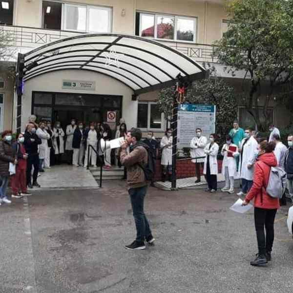 Εργαζόμενοι Νοσοκομείου ο Άγιος Σάββας: Το νοσοκομείο το έκλεισε ο κορωνοϊός ή η Διοίκηση έκλεισε τον κορωνοϊό μες στο νοσοκομείο;