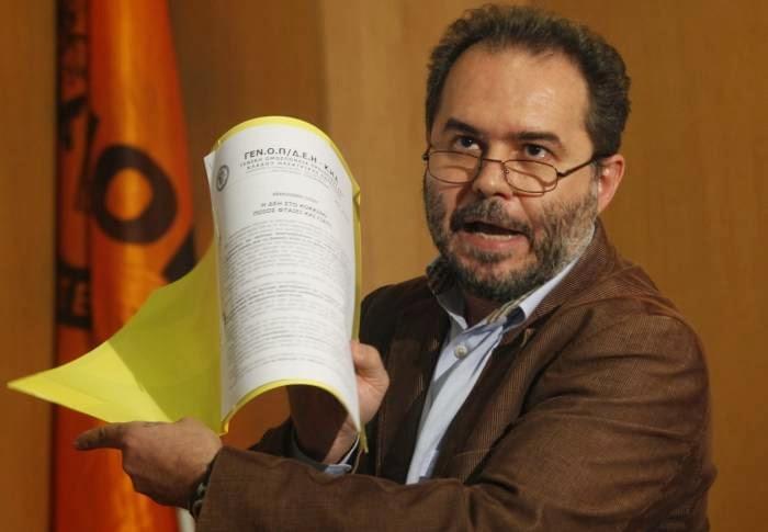 Φωτόπουλος Νίκος: Γιατί καταψήφισα το σχέδιο της νέας ΣΣΕ στη ΔΕΗ