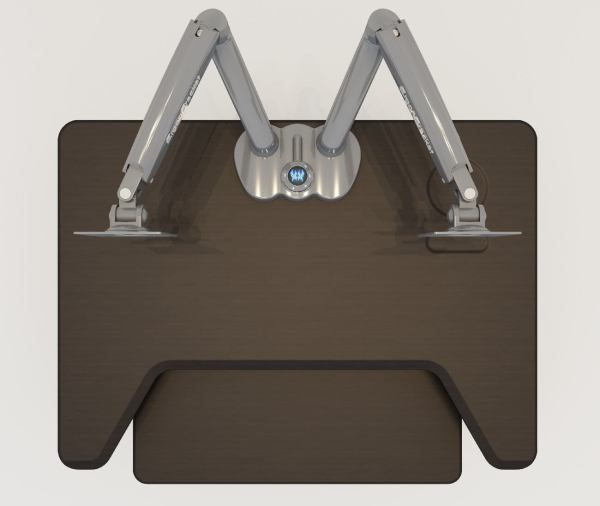 Dual Monitor Arm Desk Mount 01