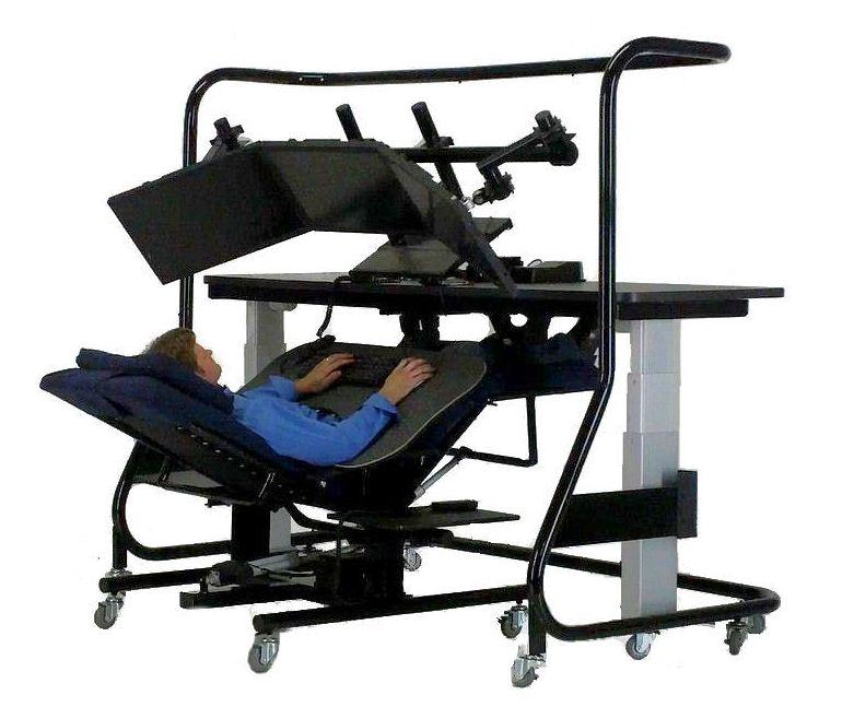 Zero Gravity Chair Table