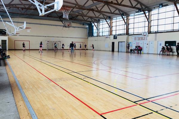 les salles du club ergue quimper handball