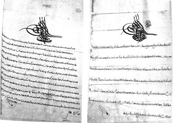 3-İstanbul da ki Rum Ortodoks Kiliselerine onarım ve yeniden yapılanması için Padişahlar tarafından verilen fermanlardan biri