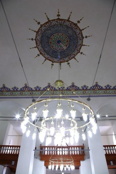 Restorasyon sonrası, camide yapılan güçlendirmeler fotoğraf 13