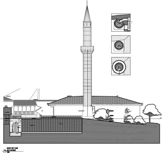 Batı cephe görünüşü (şekil 6)