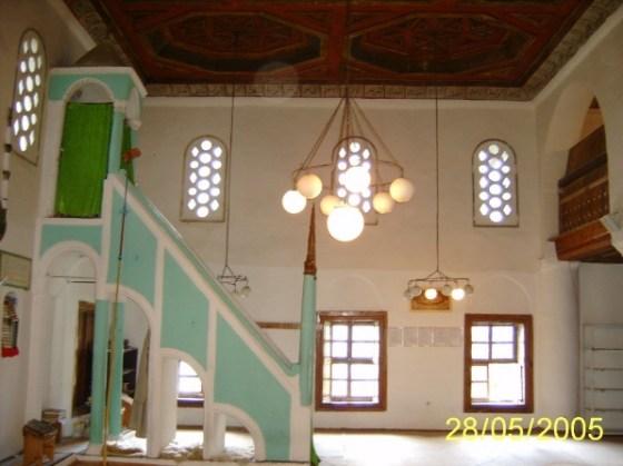II.Beyazid Camii iç mekan(fotoğraf 6- 2005 yılı)