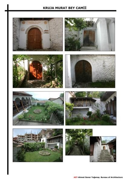 Uygulama öncesinde müştemilat, bahçe duvarları ve son cemaat (fotoğraf 16)