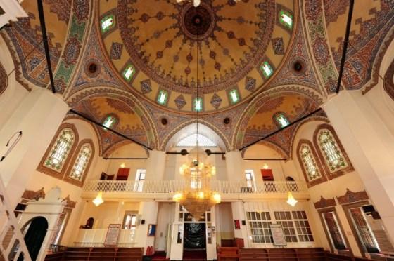 Molla Çelebi Camii güneyden görünüş mahfil
