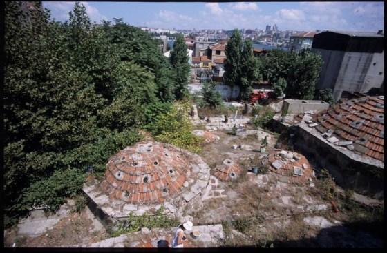 Küçük Mustafa Paşa Hamamı Kubbe örtüsü