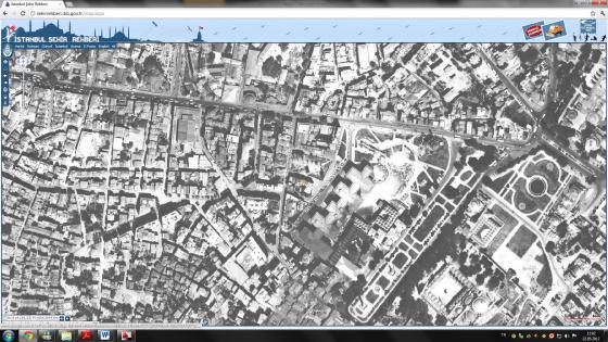 1966 yılı hava fotoğrafı