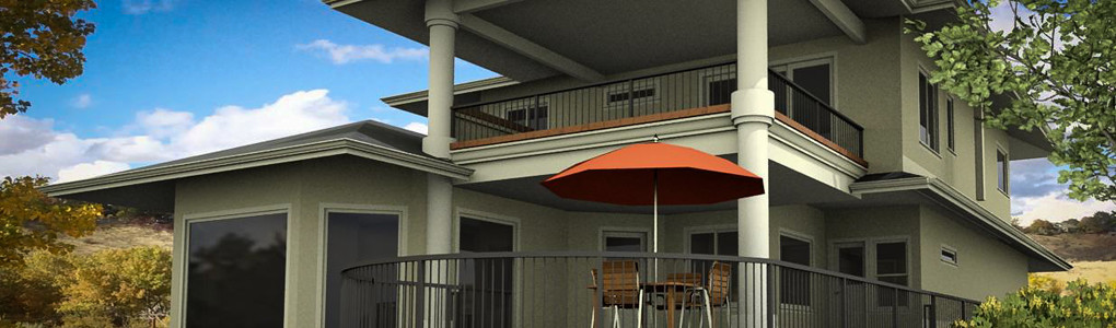 Addition, Patio, Upper Deck Design