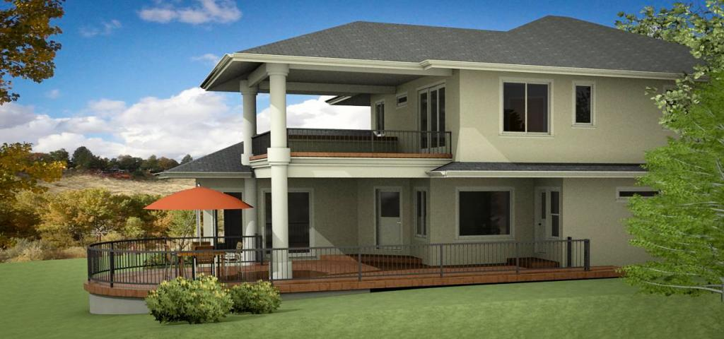 Rendering by Hoff Design Build