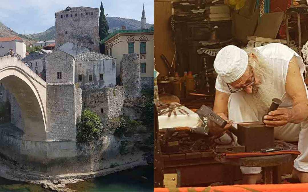 Mostar: il fascino dell'oriente